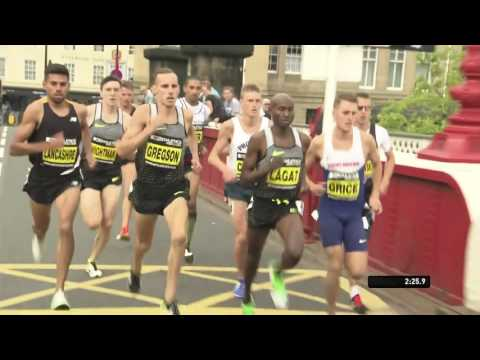 Men's Mile - Great North City Games Newcastle 2016 FULL HD
