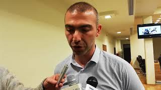 Ο υπ. Ευρωβουλευτής του ΣΥΡΙΖΑ Αλέξανδρος Νικολαΐδης στην Κοζάνη