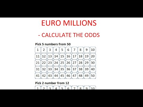 How To Calculate The Odds Of Winning EuroMillions - Step By Step Instructions - Tutorial