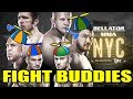 BELLATOR NYC LIVE STREAM    SONNEN VS SILVA   FEDOR VS MITRIONE   FIGHT BUDDIES