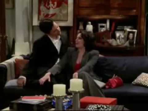 Megan Mullally - Bloopers Karen Walker 2