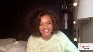 Conversations at Home with Andra Day of THE UNITED STATES VS. BILLIE HOLIDAY