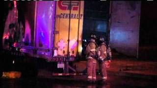 Brakes To Blame In Tractor-Trailer Fire