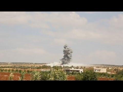 Air strikes hit parts of Syria's Idlib province