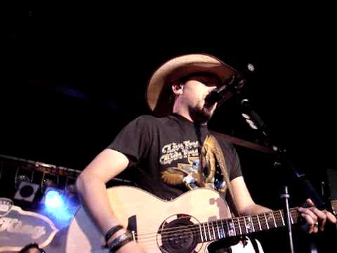 Jason ALDEAN Wide Open LIVE NYC May 6 2009