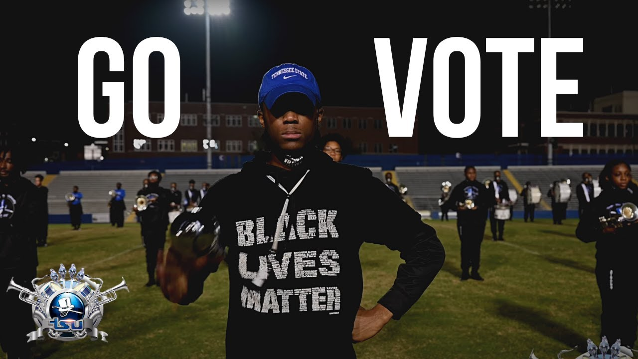 Election Day Message from the Aristocrat of Bands: VOTE | Tennessee State University