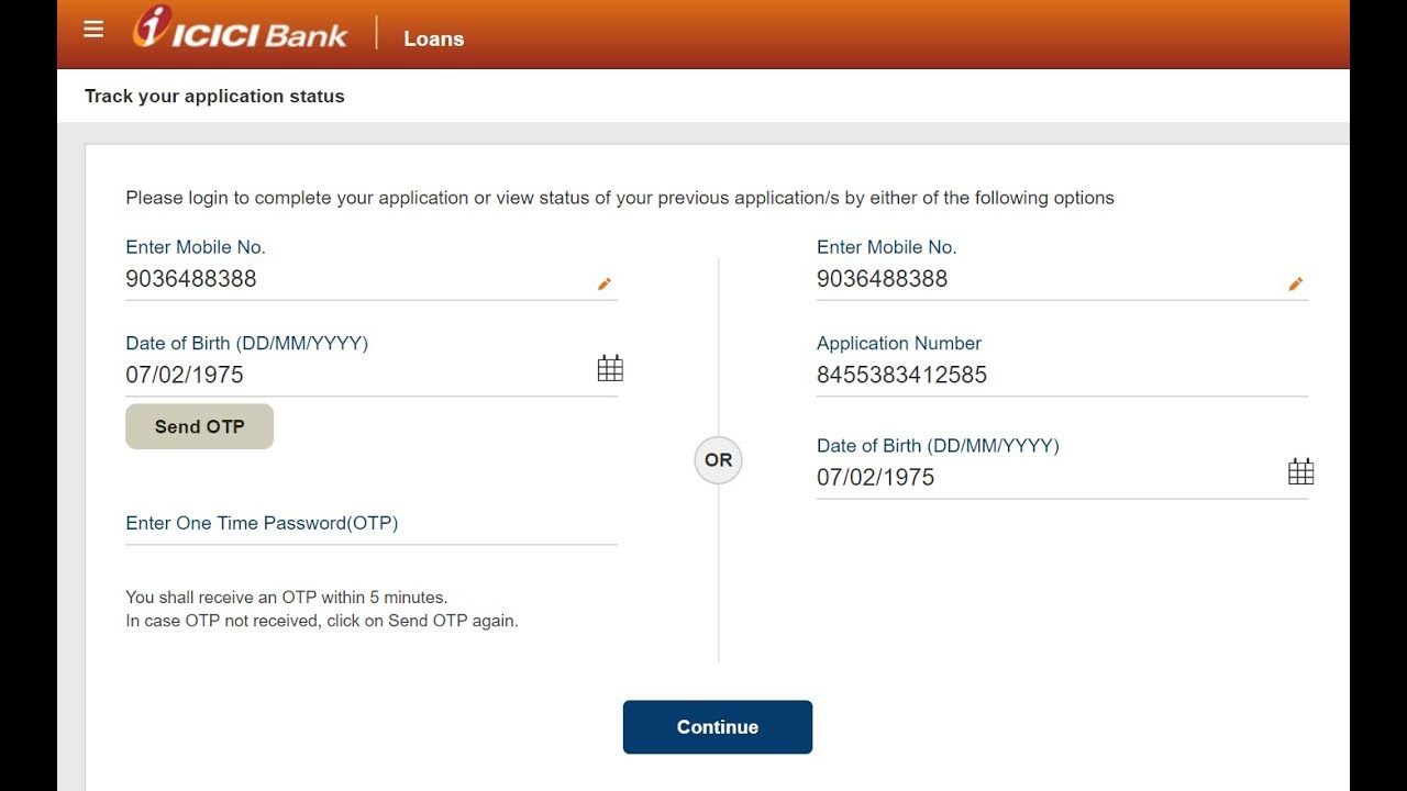 How To Check Icici Credit Card Application Status Online Youtube