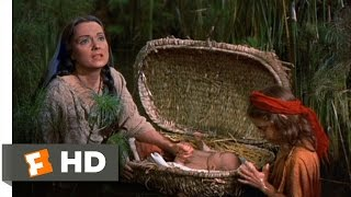 The Ten Commandments (2/10) Movie CLIP - Baby Moses Sent Down the River (1956) HD