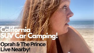 This Dog Friendly Beąch Wasn't Crowded! SUV Car Camping In California