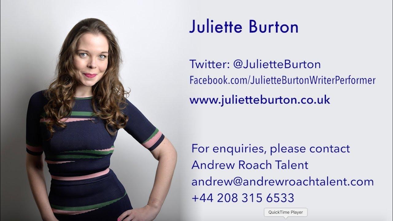 Juliette Burton TV appearances 2018