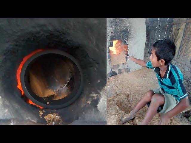 How to Make Poha ( Chira ) In Village | Making Of Flattened Rice || Gaon Mai Chira Kaise Bante Hai