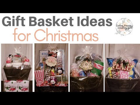 🎄 Christmas Gift Basket Ideas 🎄 On a Budget