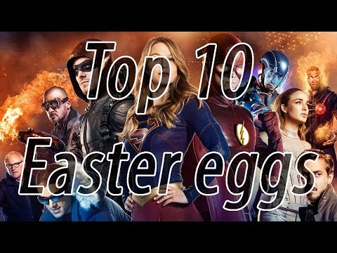 Top 10 Arrow-verse Easter eggs and references