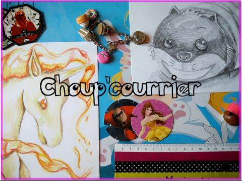 Choup'courrier - Des dessins incroyables, je peux ouvrir une galerie d'art \o/