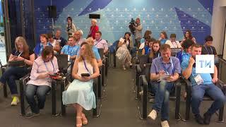 Прямая линия с городами-организаторами ЧМ о Годе добровольца в России