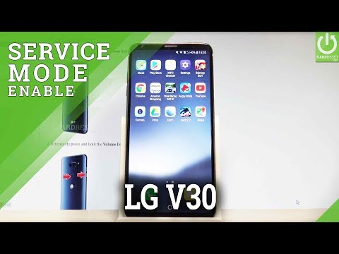 Service Menu LG V30 - Hidden Mode / Service Code - YouTube
