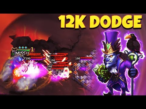 The Unkillable WallaWalla | 12K Dodge 😱😱 | Gameplay | CASTLE CLASH
