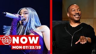 Cardi B Addresses Fans Calling Her A Rapist + Eddie Murphy Is Back on #hot97now