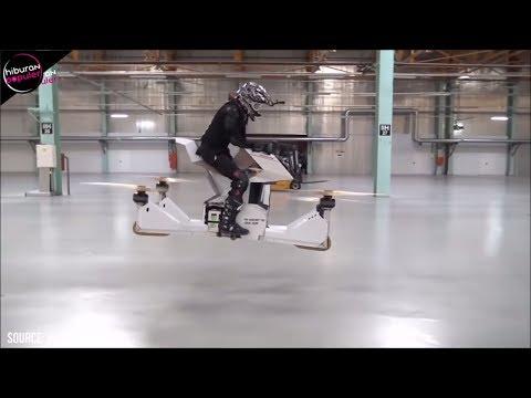 Inovasi CANGGIH! 8 Motor Terbang Mutakhir Yang Telah Jadi Kenyataan, 100% Anti Macet Mp3