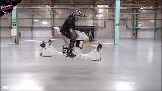 Inovasi CANGGIH! 8 Motor Terbang Mutakhir Yang Telah Jadi Kenyataan, 100% Anti Macet