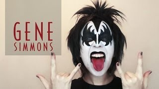 KISS | Gene Simmons Makeup Tutorial