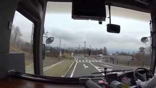 東武バス JR日光駅→霧降高原→大笹牧場 前面展望
