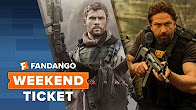 Now In Theaters: 12 Strong, Den of Thieves, Forever My Girl   Weekend Ticket - Продолжительность: 65 секунд