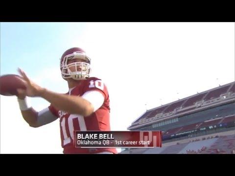 Blake Bell Highlights VS Tulsa (2013)