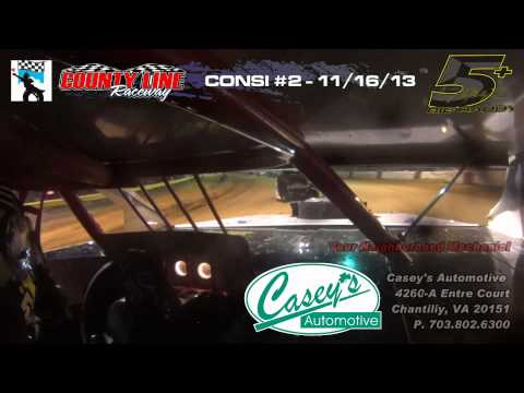 County Line Raceway -  Race for the Kids - Consi #2   11-16-13