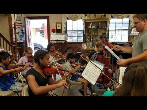String Theory Chamber Music Camp 2017