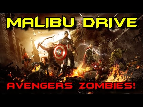 MALIBU DRIVE: Avengers Zombies! ★ Call of Duty Custom Zombies Maps/Mods Gameplay