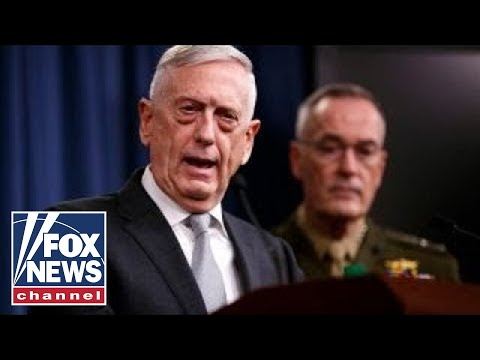 Mattis: US, UK and France taking decisive action in Syria