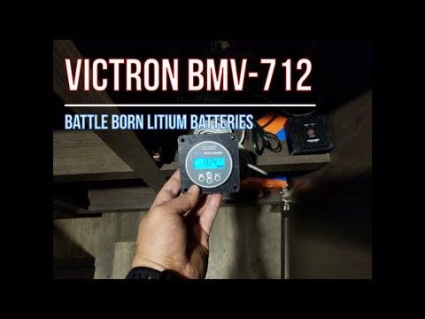 Victron BMV 712 Battle Born Lithium Battery wiring