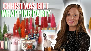 Gift Wrapping Party with Katie Jacobs | Festive Decorating Ideas | Southern Living