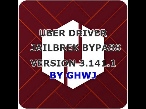 Uber Driver / Partner - Jailbreak Detection Bypass / Hack - Version 3 141 1  - Feb/2017 - iOS 10 2