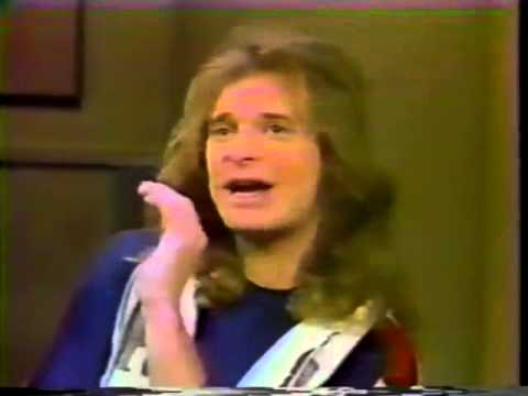 David Lee Roth accidentally tells Tomata du Plenty story on David Letterman