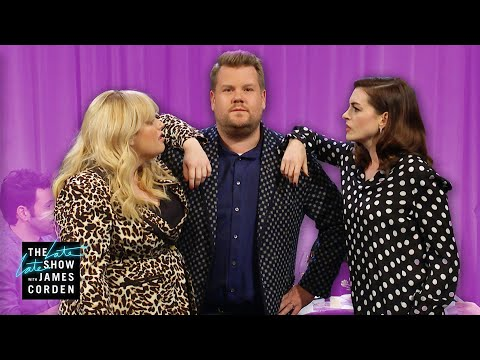 Anne Hathaway & Rebel Wilson Battle for James&39;s Friendship