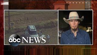 Hero describes chasing alleged Texas church shooter