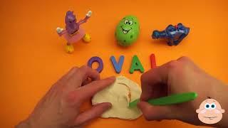 Детское Удивление Яйцо Узнать Слово! Орфографические Игровые Формы! Урок 8 (Обучение Письмам, Откры
