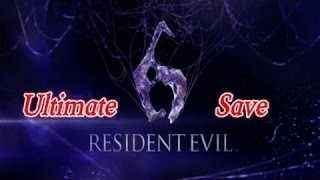 Resident Evil 6 Ultimate Save PS3 (Updated Links 2017)