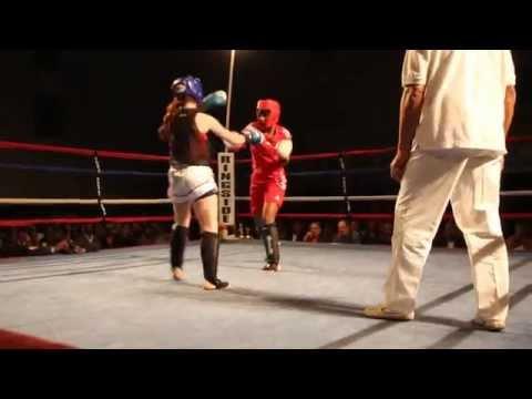 Talia Iris Allysa Goodridge Fight Night XIV Bermuda March 10 2012