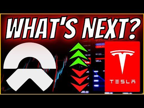 🚨📉 NIO Drops Amid China Risk! Tesla Validates Support! NIO & TESLA Stock Price Update & Prediction