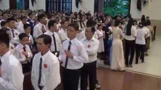 Giáo xứ Phú Trung - Hân hoan bước vào nhà Chúa..04/07/2014.