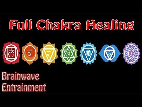 Intensity Warning! 1 Hour *Full* Chakra Balance Meditation   Binaural Beats Root To Crown
