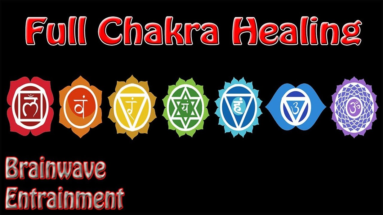 Intensity Warning 1 Hour Full Chakra Balance Meditation Binaural Beats Root To Crown