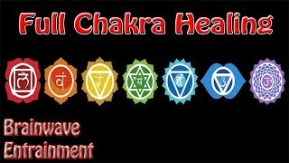 Intensity Warning! 1 Hour *Full* Chakra Balance Meditation | Binaural Beats Root To Crown