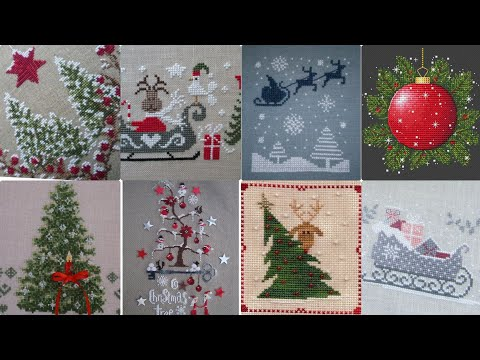 Beautiful Cross Stitch Christmas Patterns For You