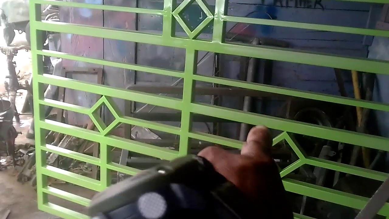 Warna cantik cocok buat pintu pagar geser, - YouTube