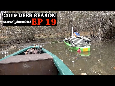 Hunting The RUT On Private And Public Land - 2019 Deer Season, Ep. 19