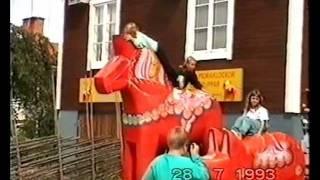 1993 Nusnäs Zweden Dalarna paardjes